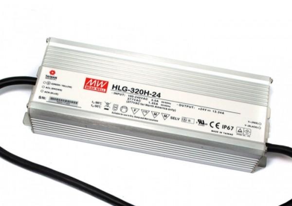 HLG-320H-24 In- und Outdoor Netzteil IP65 24V / 320W / TÜV